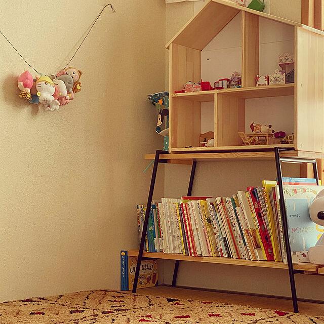 こども部屋,Overview,絵本,ドールハウス,IKEA rtscHcacoの部屋
