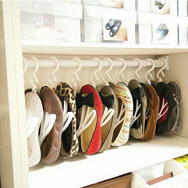 Entrance,靴収納,シューズクローク,整理収納部,100均,同じ物を並べたい,アイデア収納,IG→mee.238,セリア meeの部屋