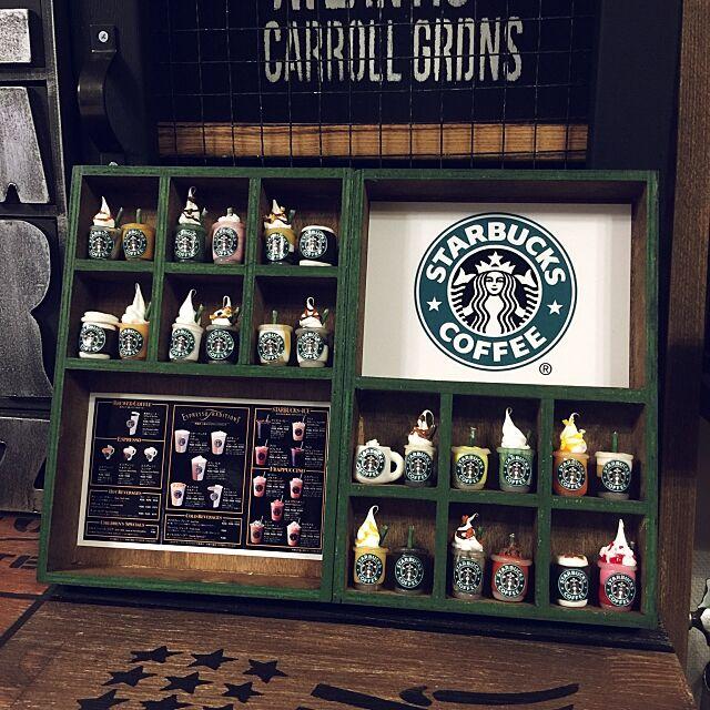 Overview,Caffee,樹脂粘土,STARBUKCS,DIY,handmade,ミニチュア t6_r4_a9の部屋
