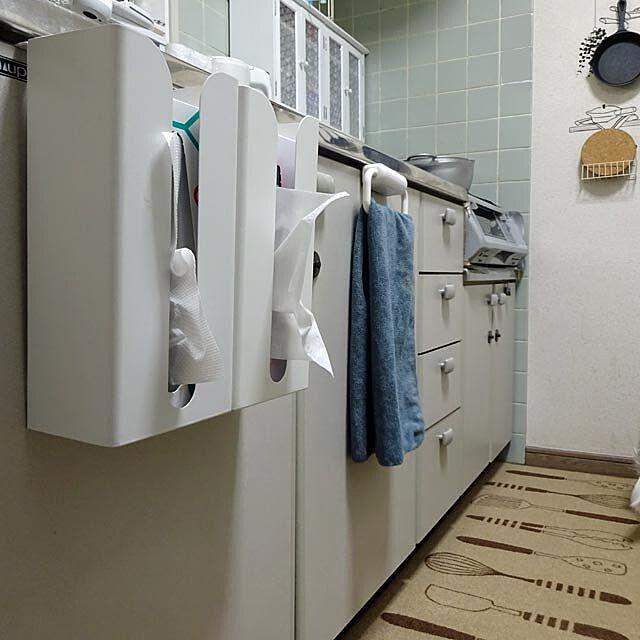 Kitchen,収納,山崎実業,キッチンペーパーホルダー tulip0110の部屋