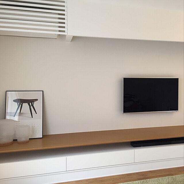 Overview,照明器具,テレビ壁掛け,エアコンルーバー,造作家具,IKEA,塩系,設計事務所,こどもと暮らす haruの部屋