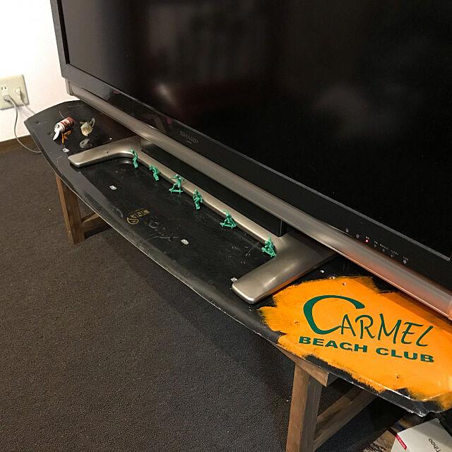 TV台DIY,My Desk,DIY,一人暮らし,雑貨,レトロ minekidの部屋