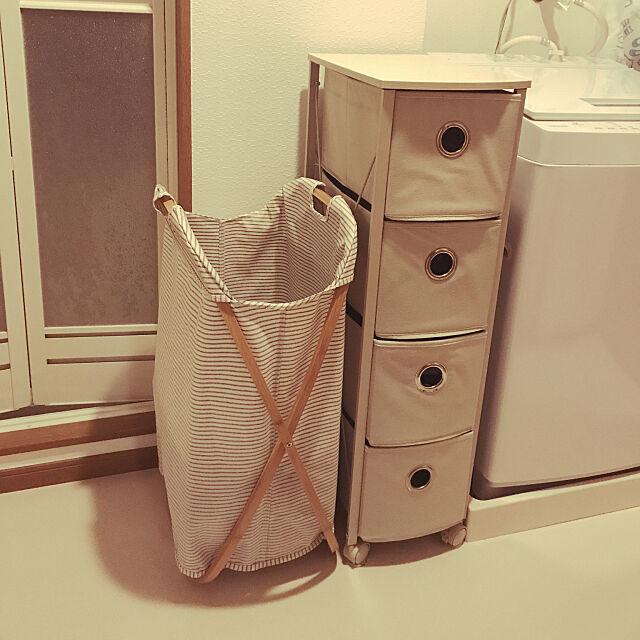 Bathroom,ニトリ,2LDK,脱衣所 michiの部屋