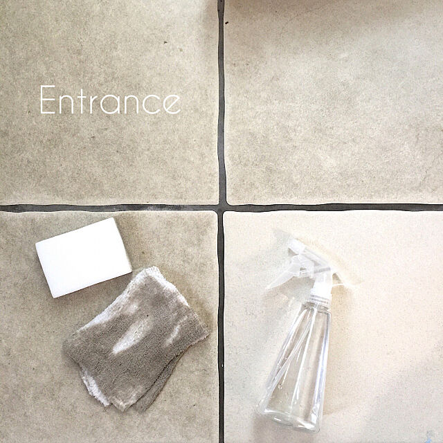 Entrance,大掃除,セスキ炭酸ソーダ水,メラミンスポンジ cherryの部屋