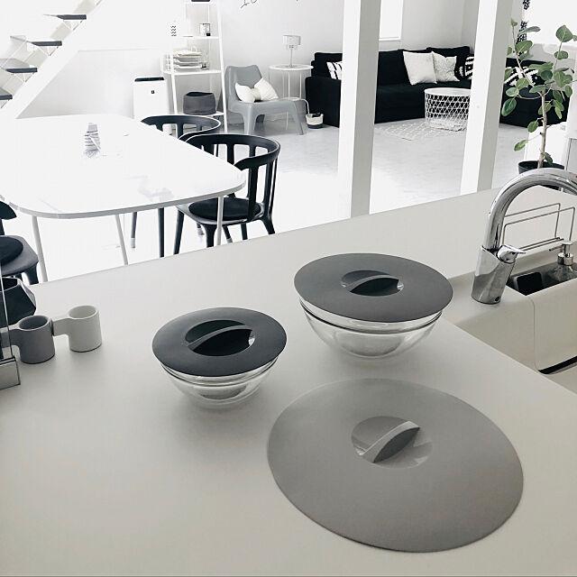 シリコン蓋,キッチンツール,モノトーン,シンプルが好き,シンプルインテリア,シンプルモダン,IKEA,Kitchen itsumiiiの部屋