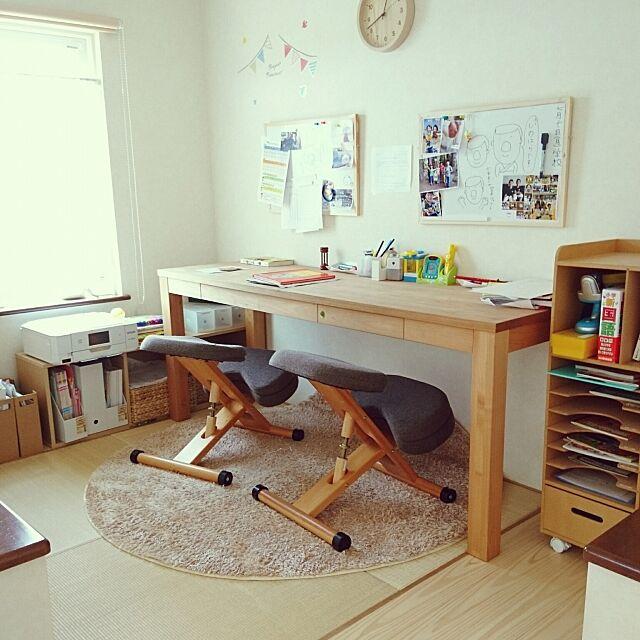 My Desk,くつろぎ空間,一軒家,田舎暮らし,平屋,勉強部屋,小上がり畳スペース,年子兄弟,男の子の部屋,少々荒れておりますが。。 kazumaの部屋