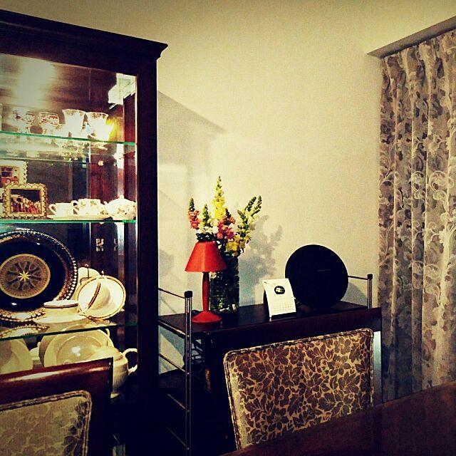 Lounge,春,ディスプレイ,季節を愉しむ,グリーン,花を飾る,クラシックモダン uniの部屋