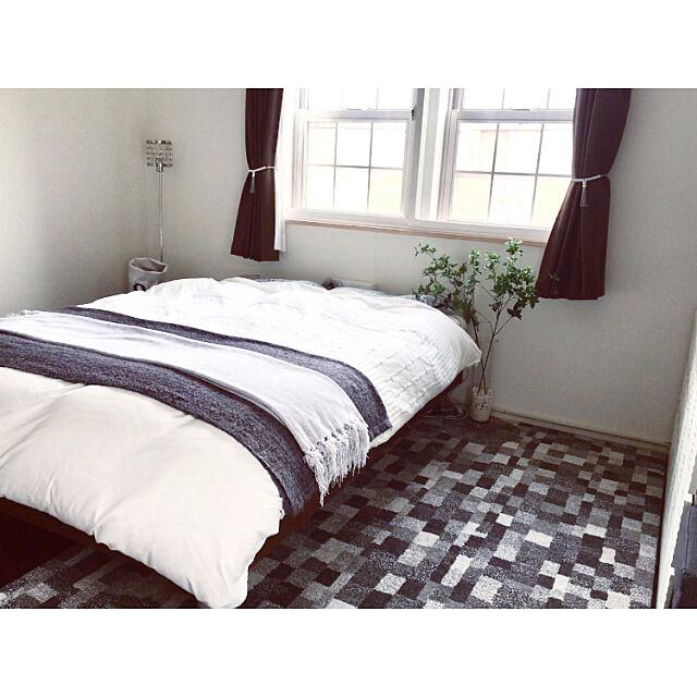 Bedroom,シンプル,シンプルが好き,グレーインテリア,白✖︎グレー,ホワイトインテリア,シンプルインテリア,シンプルに暮らす,グレージュインテリア,シンプルモダン,すっきり暮らす,モノトーンインテリア,シンプルライフ,シンプルモノトーン,simple,白黒,物を持たない暮らし,グレーが好き,白黒グレー,モノトーン,ホワイト✖︎ベージュ✖︎グレー hinahime88の部屋