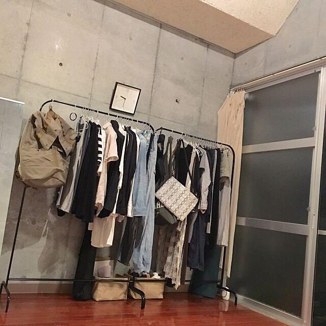 Lounge,モノトーン,照明,simple,賃貸,IKEA,デザイナーズ,白黒グレー,無機質,男前,塩,塩インテリア,シンプル,無印良品,塩シンプル,コンクリート打ちっ放し,100均 m_______yuの部屋