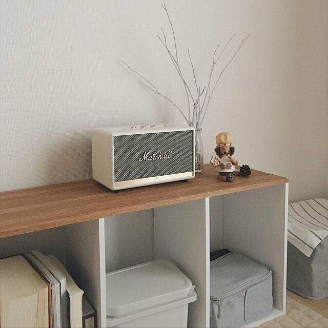 Marshall,ニトリ,Lounge,塩系インテリア Kayoの部屋
