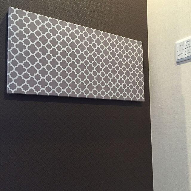 Lounge,モロッカン柄,マグネットボード,IKEA kanaの部屋