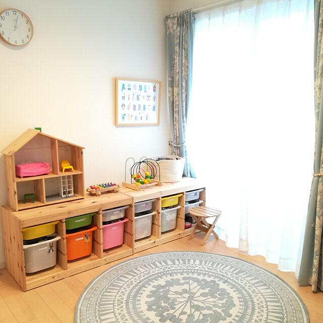 My Shelf,清潔感重視,子どものいる暮らし,ポスターのある部屋,ダイワハウス,二世帯住宅,掃除スイッチ,すっきり暮らしたい,ポスター,IKEA,トロファスト,おもちゃ収納 kumakumaの部屋