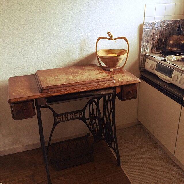 Kitchen,北欧,アンティーク,雑貨,食器,ミシン台 kurumi-kayoの部屋