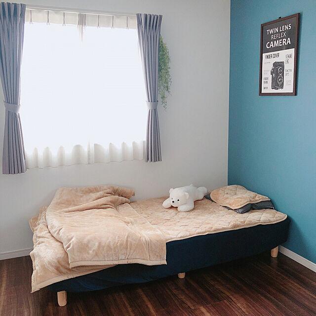 HOME COORDY HEAT,ホームコーディ,HOME COORDY,抱き枕,枕カバー,毛布,敷きパッド,Bedroom,子供部屋 yksrの部屋
