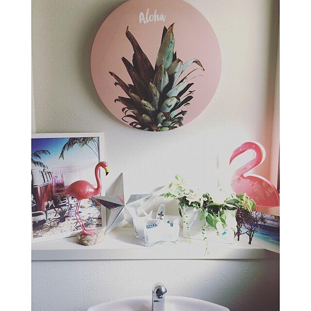 Bathroom,WTW,RH,いいね&フォローありがとうございます☆,二世帯住宅の二階,海外インテリアに憧れる,ティンバーンスター,Francfranc,フライングタイガー,ニトリ,トイレ akistyleの部屋
