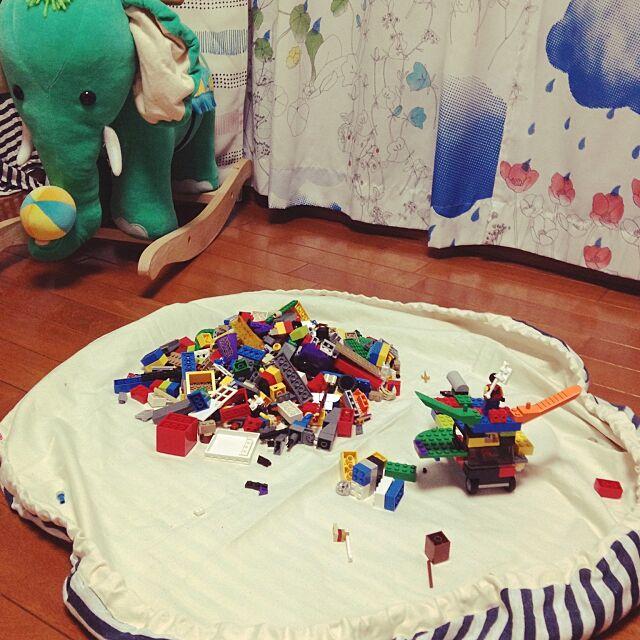 Overview,レゴ袋,インテリアじゃない,手作り,子供部屋 Megamouthの部屋