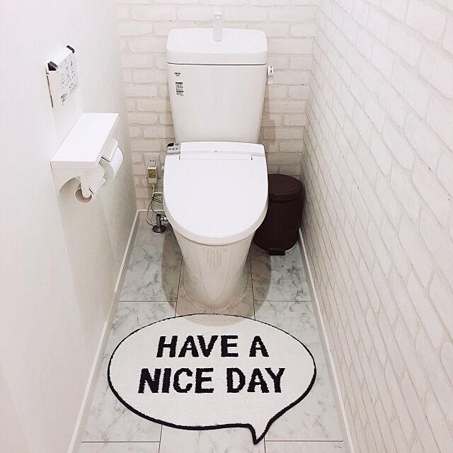 ニトリ,シンプルインテリア,Bathroom Saitouの部屋