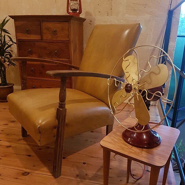 扇風機,アンティーク,retro mosmanparkhomeの部屋
