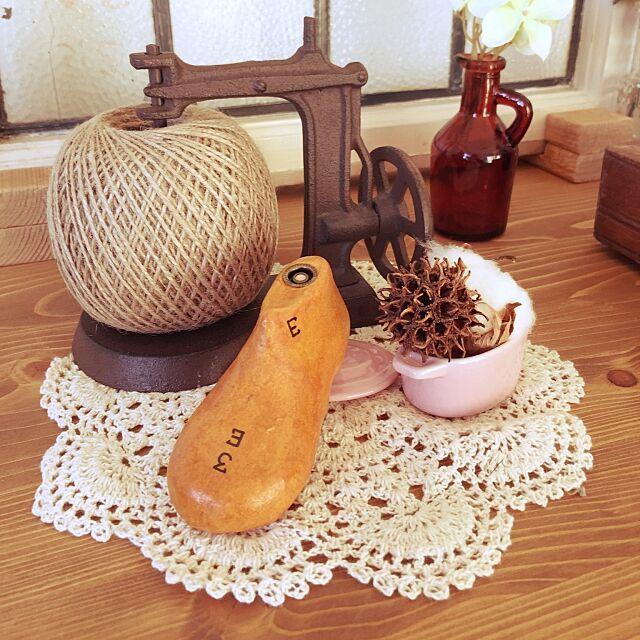 My Shelf,ナチュラルアンティーク目指して,木かる粘土でシューモールド,ハンドメイド,セリア,ナチュラル,雑貨 Toshikoの部屋