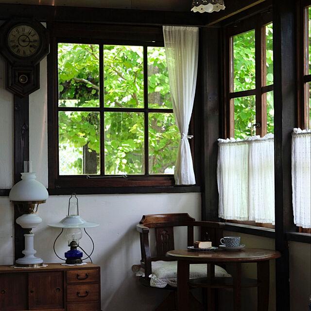 古い丸テーブル♡,2019.5.30☀️,二男のケーキ♡,古時計♡,Lounge okaasanの部屋