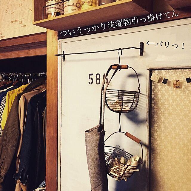 Bedroom,100均だらけ,洗濯バサミ入れ,扉リメイク,築41年中古マンション,塩系インテリアの会,100均,見せる収納,ワイン箱 yukoの部屋