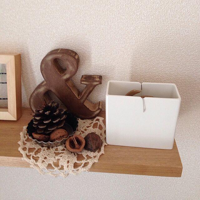 My Shelf,無印良品 壁に付けられる家具,無印良品 蚊取り線香セット,くるカラ,アルファベット文字,無印良品 makiraraの部屋