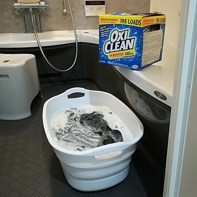 Bathroom,小掃除,つけ置き,オキシクリーン,折り畳める,ソフトタブ,シンプル,靴洗い,洗濯物入れ,多機能 Jijiの部屋