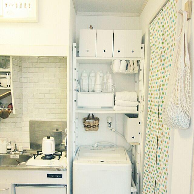 Bathroom,ブログ更新しました♡,PPケース,ワンルーム 狭い,14㎡,一人暮らし,賃貸,無印良品 komugiの部屋