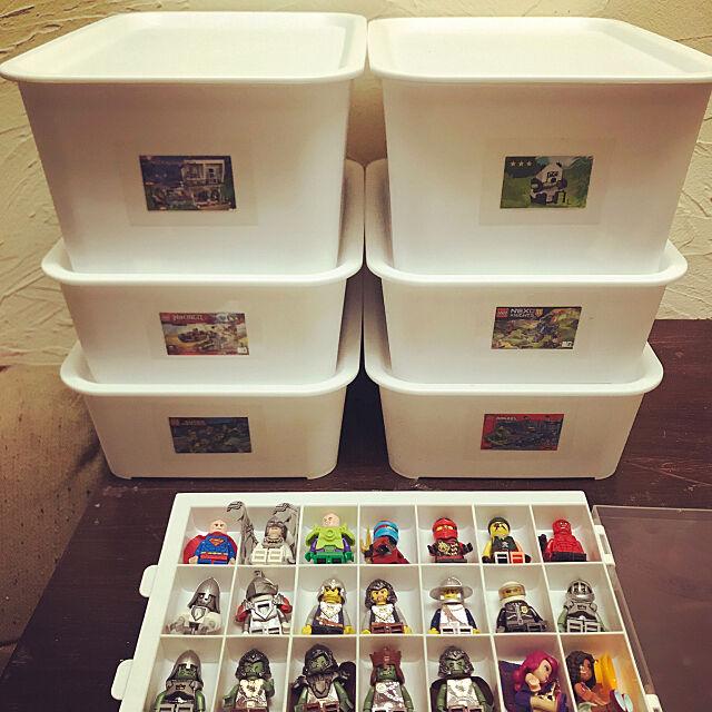 Overview,おもちゃ収納,子供部屋 男の子,セリア hB8mの部屋