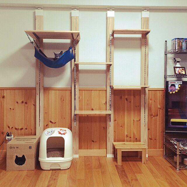 Lounge,ナチュラル,一人暮らし,ハンモック,カインズホーム,DIY,ハンドメイド buchioの部屋