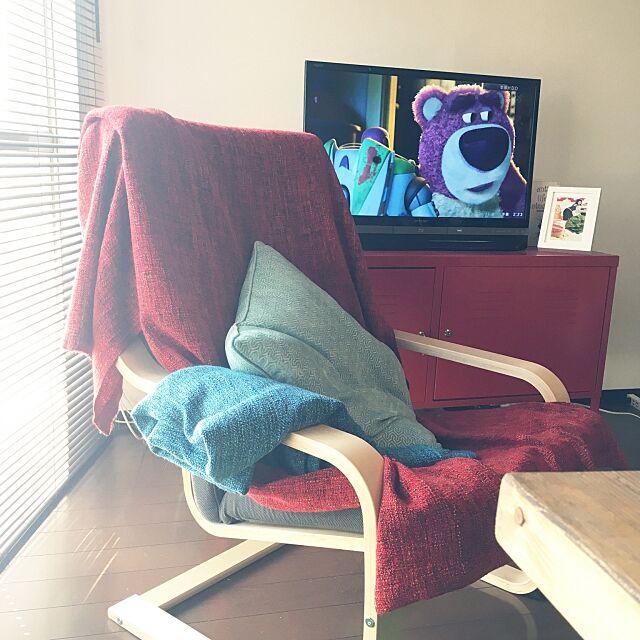 Lounge,ポエング,ブランケット,お昼寝,IKEA Kerokoの部屋
