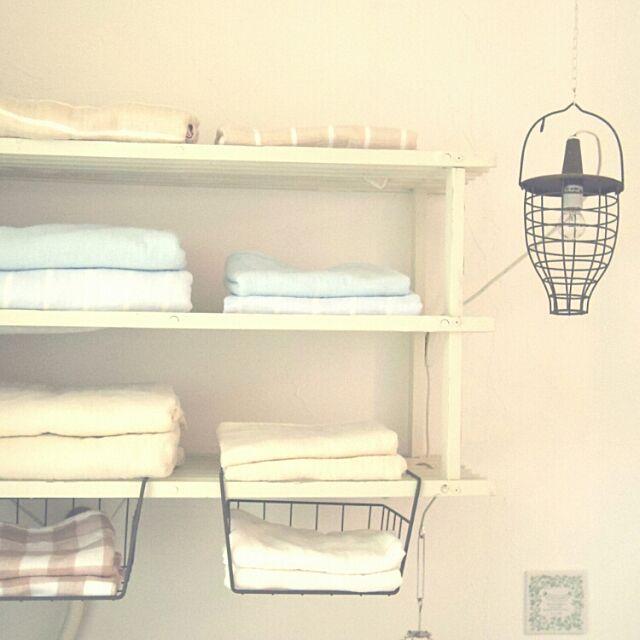 Bathroom,タオル収納,収納,見せる収納,ガーゼタオル,いつもいいね、ありがとぅございます♡,インスタ→naturalnavy,ちょうどいい数をすっきりしまう。,ブログやってます♡ navyの部屋