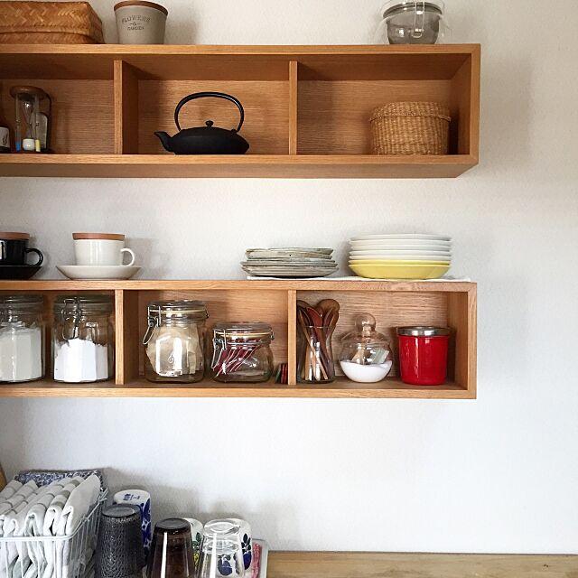 My Shelf,100均,マンション,シンプル,壁に付けられる家具,無印良品,かご,IKEA,IGと同じpic! keeecoの部屋