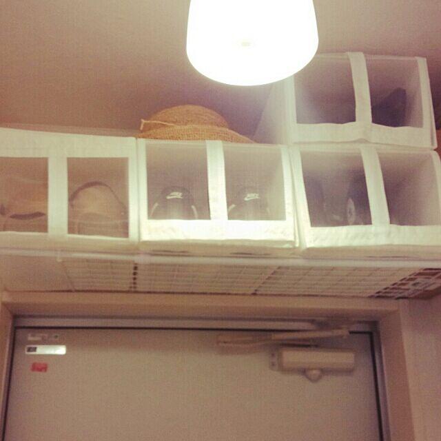 Entrance,3COINS,IKEA,DIY,100均,一人暮らし,ワンルーム 狭い,simple,賃貸,14㎡,収納,ダイソー komugiの部屋