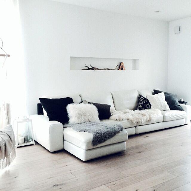 Lounge,シンプル,ムートン,キャンドル,ハンモック,流木,アルファベット,ランタン,シープスキン,チベットラム,北欧 gomashioの部屋