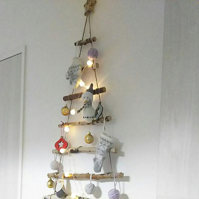 子供部屋,salut!,natural kitchen &,クリスマス,キャンドゥ,ミーツ flannel.の部屋
