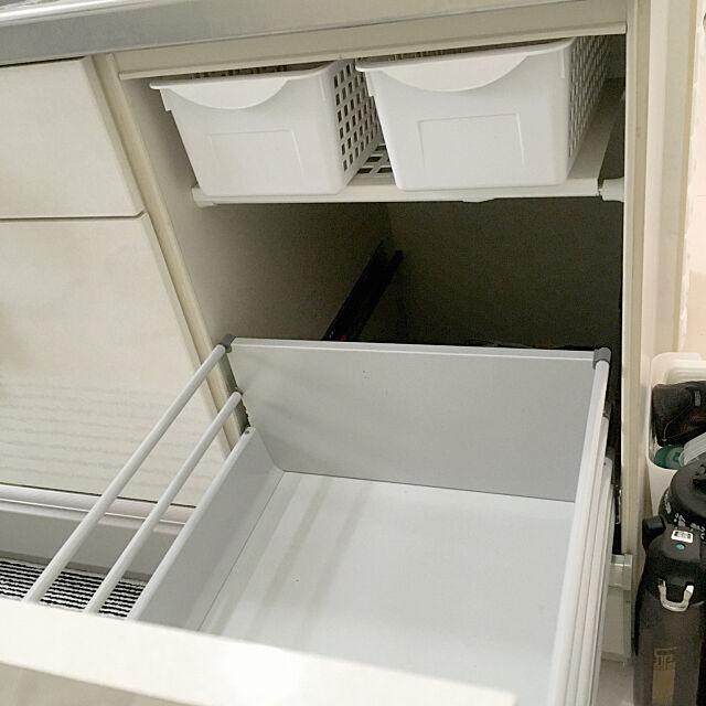 Kitchen,つっぱり棚,つっぱり棒棚,つっぱり棒,100均,キッチン収納,キッチン cocoの部屋