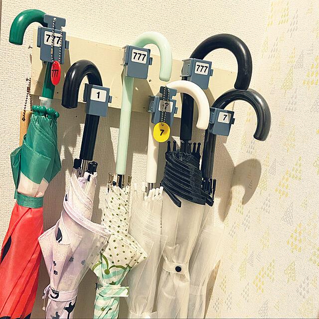 DIY,傘収納,傘,ガチャガチャ,わたしのハンドメイド 秋,こどもと暮らす,Entrance,鍵付き,777 ikの部屋