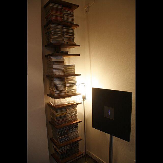 My Shelf,CDラック,DIY,暮らしの愛用品 shimyu33の部屋