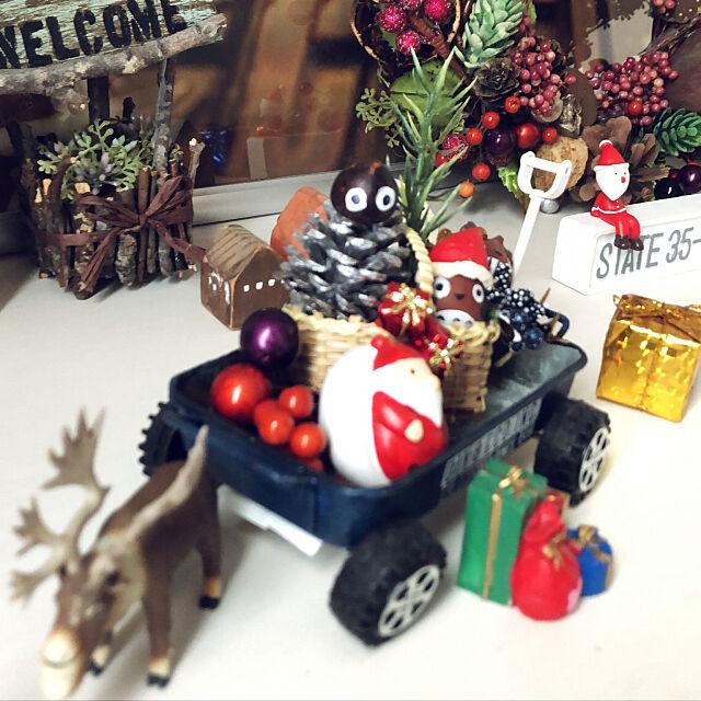 Entrance,どんぐりトトロ,クリスマスリース,ハンドメイド,手作りリース seiの部屋