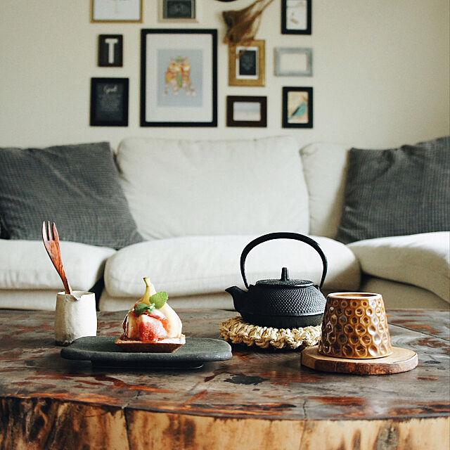 Lounge,ケヤキ,おやつ,おうちカフェ,テーブルコーディネート,Food clip myo__nの部屋