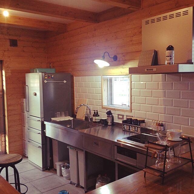 Kitchen,土間キッチン,BESSの家,無印良品,Aesop Masumiの部屋