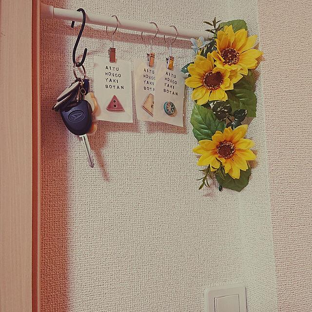 On Walls,鍵置き場,小物インテリア,壁面収納 damaの部屋