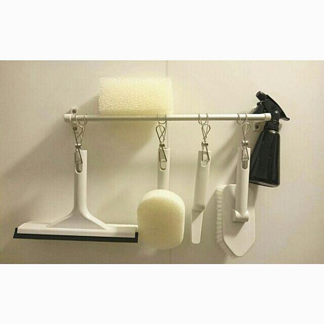 Bathroom,大掃除,注文住宅,新築,LIXIL,リクシル,マイホーム,無印良品,バスルーム,お風呂,シンプル,キャンドゥ achiの部屋