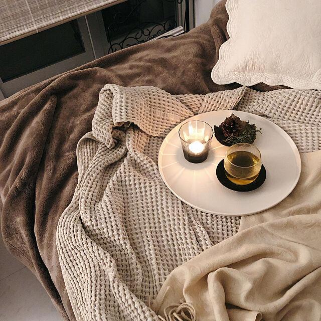 Bedroom,モダン,シンプル,すだれ,大人インテリア,窓際,ナチュラル,一人暮らし,一人時間,ソファベッド,リラックスタイム,お茶の時間 cgs_sarahの部屋