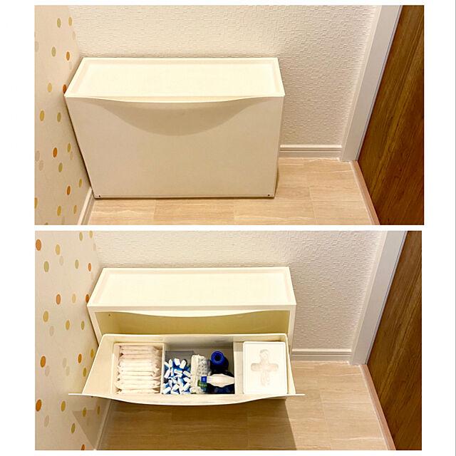 生理用品収納,サニタリー収納,イベント参加,すっきり収納,SKUBBボックス6点セット,スクッブ,skubb,薄型収納,シューズキャビネット,イケア,トイレの収納,Bathroom sasaeriの部屋