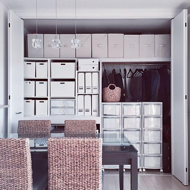 My Shelf,シーグラス,かご収納,かご,収納ボックス,収納アイデア,収納,クローゼット,ニトリ,こどもと暮らす。,100均,フォロワーさんに感謝♥,DIY,IKEA,白のチカラ,ニトリ インボックス KMNNの部屋