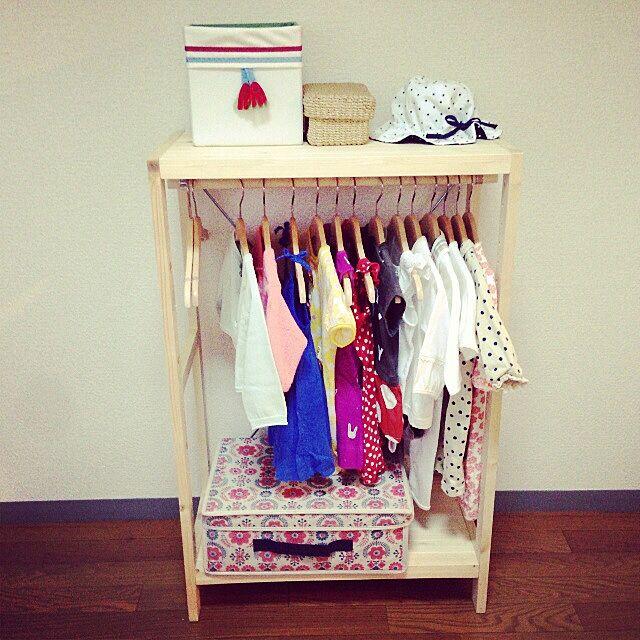 無印良品,IKEA,リメイク,収納,子供服 収納 inufreak0124の部屋