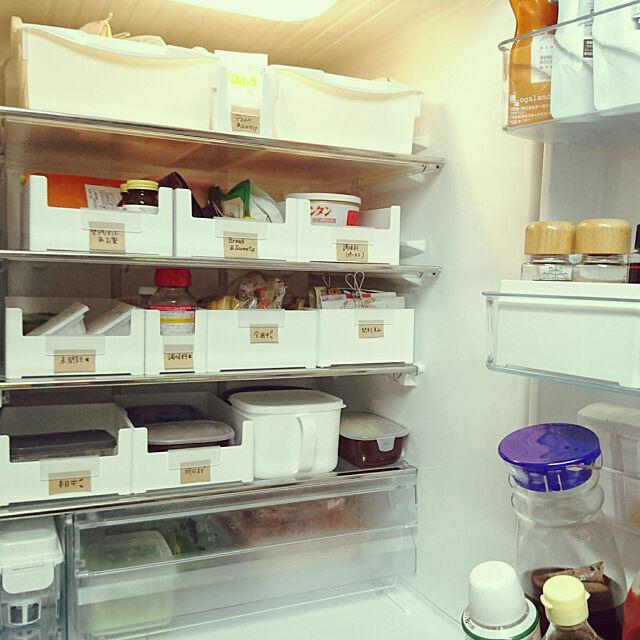 Kitchen,カインズ,skitto浅型,収納DIY ,スキット浅型,こどもと暮らす,skitto,モニター当選,冷蔵庫収納,収納,Cainz,ビフォーアフター,途中経過,スキット,キッチン収納,冷蔵庫,ダイソー,100均,冷蔵庫の中 AS-homeの部屋