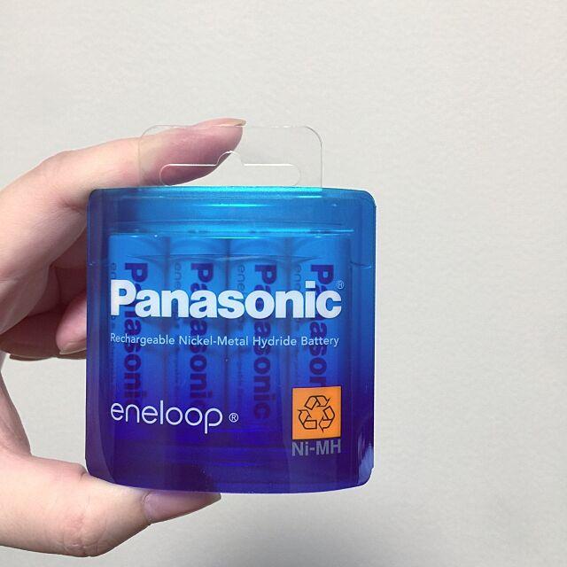 eneloop,White,再利用,Overview,脇役も素敵に♡,ECO エコ えこ。,ゴミを減らそう。 mizuの部屋
